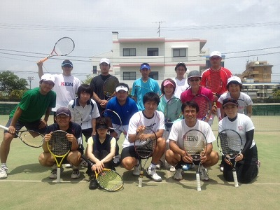KIONテニスキャンプ6月