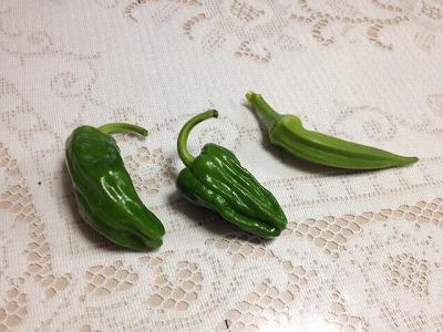 おばあちゃんの家の野菜