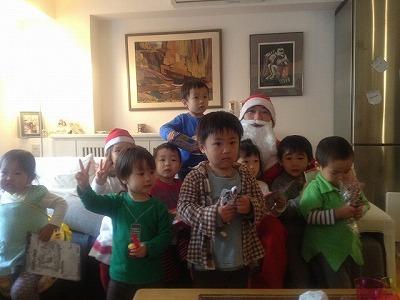 クリスマスパーティー2011年