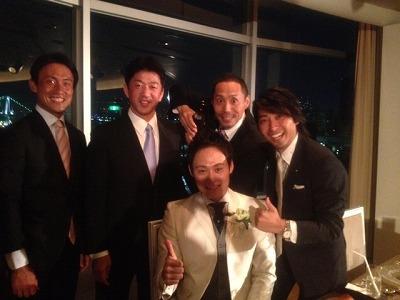 森君、結婚式