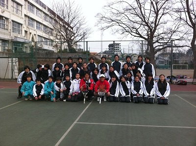 瀬田中学校3月3日